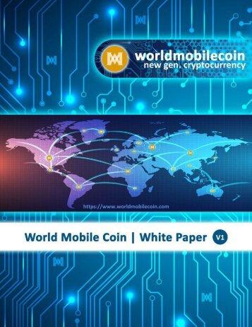 [WMCC] World Mobile Coin WhitePaper V1