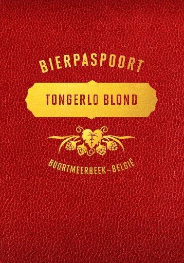 Paspoort Tongerlo Blond NL
