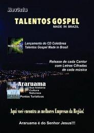 Projeto Revista Talentos Gospel 3