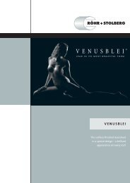 Venusblei – Surface-Finished Lead Sheet - Röhr + Stolberg GmbH