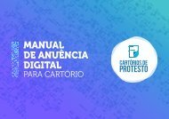 Anuência Digital - Manual do Cartorio