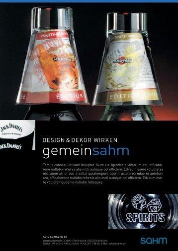 Sahm -Anzeige A4 VAR