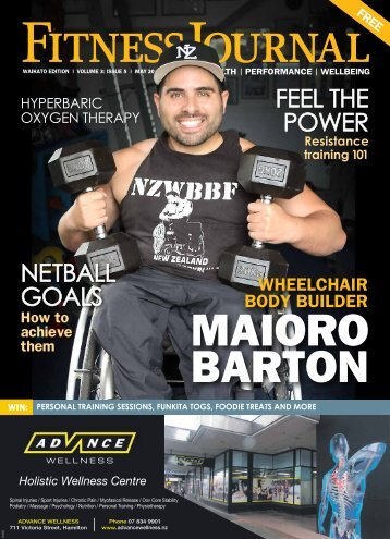 Fitness Journal May 2016