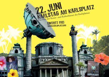 Der Kunstplatz Karlsplatz feiert sich und seine zahlreichen