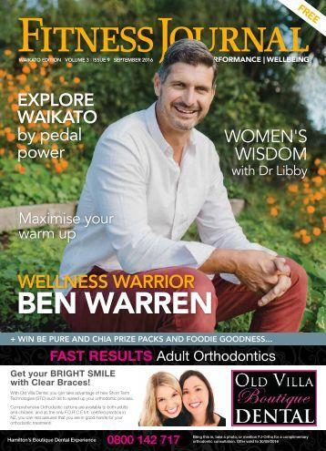 Fitness Journal September 2016