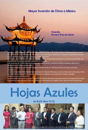 Hojas Azules N155
