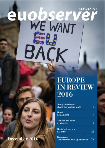 Europe in Review 2016