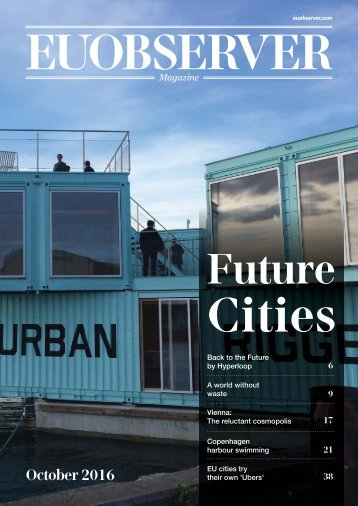 Future Cities: Shaping Europe from the bottom up
