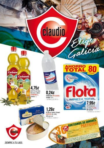 Folleto Supermercados Claudio del 11 al 24 de Mayo 2017