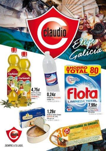 Folleto Supermercados Claudio del 11 al 24 de Mayo 2017
