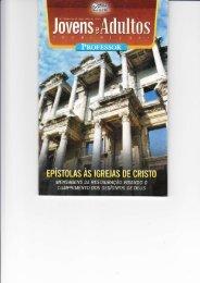 Abner de Cássio Ferreira - Epístolas às Igrejas de Cristo