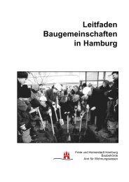 Leitfaden Baugemeinschaften in Hamburg