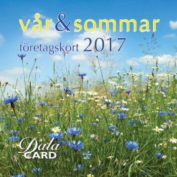 DalaCard Sommarkort 2017
