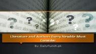 Urdu Language: Literature and Authors Every Newbie Must Consider