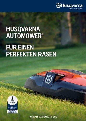 Husqvarna Automower Broschüre 2017