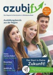 Azubify 2017 - Das Magazin für Berufsstarter in Mitteldeutschland | Preise, Daten, Fakten