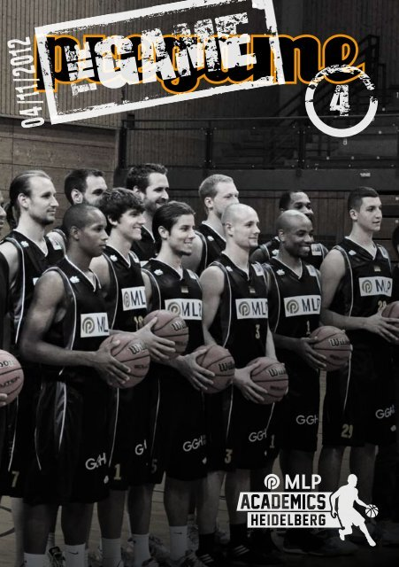 The Game Magazin 04, (04.11.2012) - USC Heidelberg
