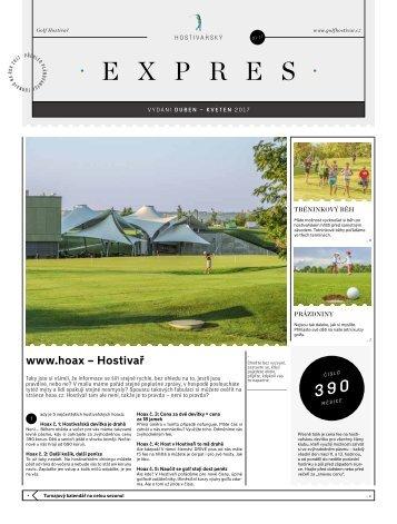 Hostivařský Expres | Duben - Květen 2017