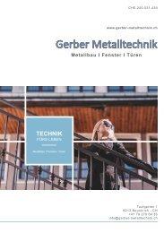 Gerber Metalltechnik