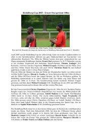 Pressebericht Heidelberg-Cup 2005.pdf - USC Heidelberg