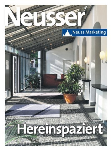 Neusser: Hereinspaziert - Neuss Marketing