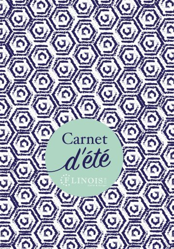 CARNET ETE FLIP BOOK