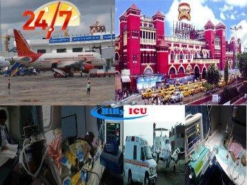 Advanced Life Support Air Ambulance Facility in Kolkata and Guwahati by Hifly ICU