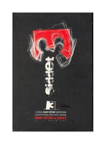 E1. - 3. Ulusal Sanat Eğitimi Sempozyumu-2007