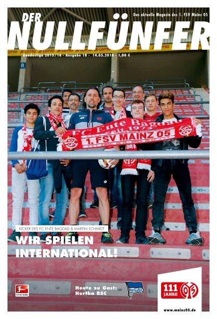 Stuttgarter Kickers FSV Mainz 05 Programm 1999//00 1