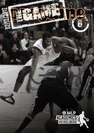 The Game Magazin 06, (29.11.2012) - USC Heidelberg