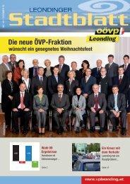 Die neue ÖVP-Fraktion - ÖVP Leonding