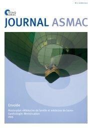 Journal ASMAC No 5 - Octobre 2012