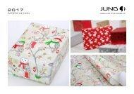 JUNG Collection papiers de Noël 2017