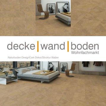 dwb Produktinformation DesignCork Walzer VK22701