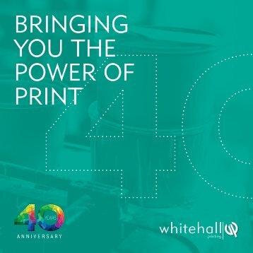 Whitehall Brochure