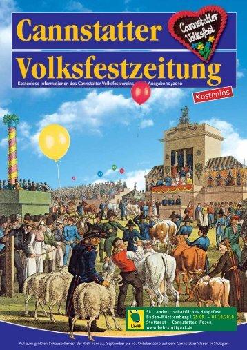 Kostenlos - Cannstatter Volksfestverein
