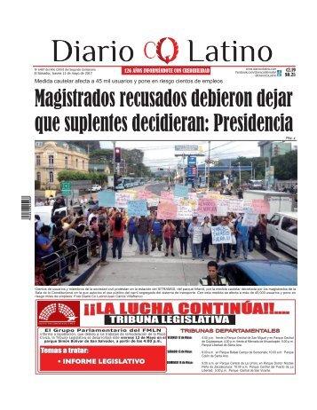 Edición 11 de Mayo de 2017