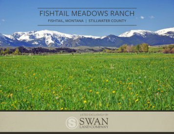 Fishtail Meadows Ranch Offering Brochure and Maps