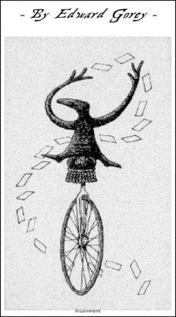 Edward Gorey Tarot