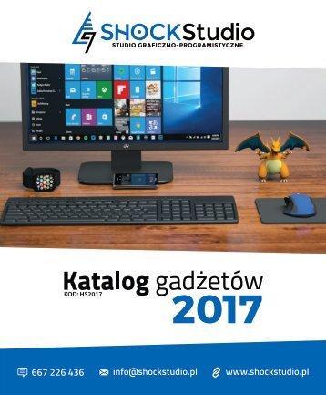 Katalog gadżetów #HS2017