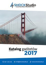 Katalog gadżetów #IV2017