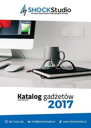 Katalog gadżetów #MC2017