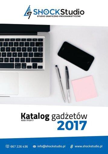 Katalog gadżetów #TP2017