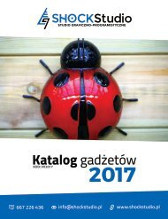 Katalog gadżetów #VX2017