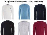 RALPH LAUREN JUMPERS £75
