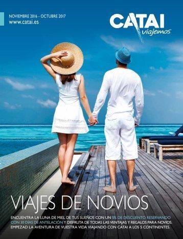 Catai Viajemos catalogo Novios, hasta Octubre 2017