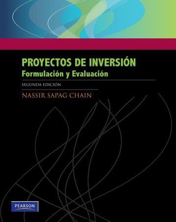 Proyectos de Inversión, 2da Edicion - Nassir Sapag Chaín