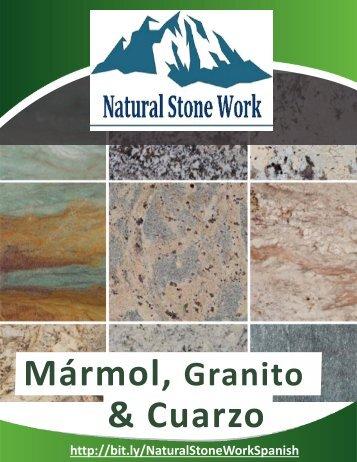 Catálogo de Natural Stone Work (español)