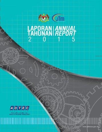 ANNUAL REPORT ADTEC SHAH ALAM