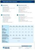 Technische Informationen technical information - ROHR Bagger Home - Page 2
